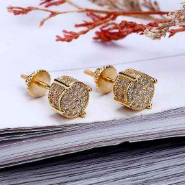 Pendientes de Oro con Diamantes