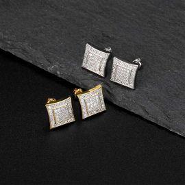 Pendientes de Diamantes con Micropavé