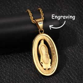 Colgante de Virgen de Guadalupe