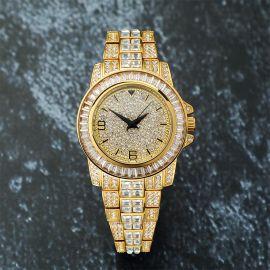 Reloj con Diamantes de Oro de 18K