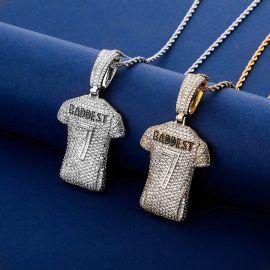 Colgante de Jersey Nº 7 con Diamantes