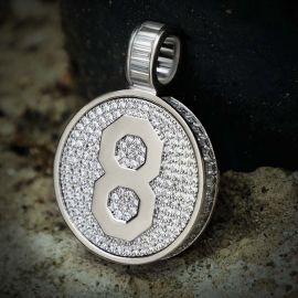 Colgante en Memoria de Mamba con Diamantes