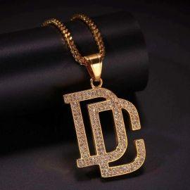 Colgante Dream Chaser DC de Oro con Diamantes
