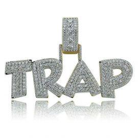 Colgante TRAP de Oro con Diamantes
