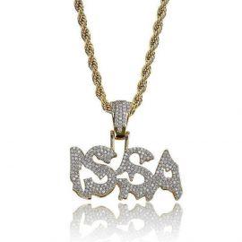 Colgante ISSA de Oro con Diamantes