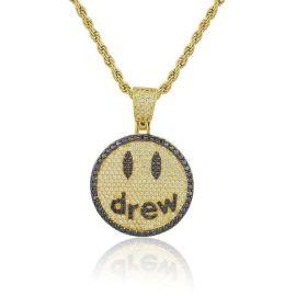 Colgante Drew de Oro con Diamantes