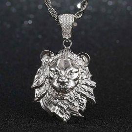 Colgante de León de Plata