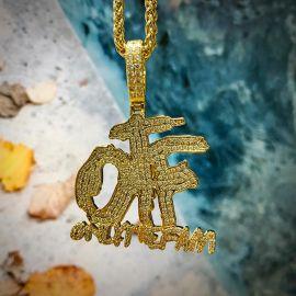Colgante ONLY THE FAM de Oro con Diamantes