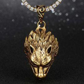 Colgante de Lobo de Oro