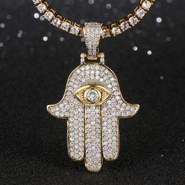 Colgante Hamsah Micro de Oro