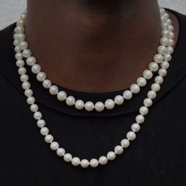 8mm Collar de Perlas
