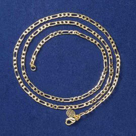 3mm Cadena Figaro de Oro