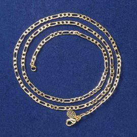 Cadena Figaro de 3 mm de Oro