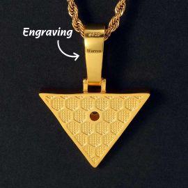 Colgante en Forma de Ojo de Horus de Oro