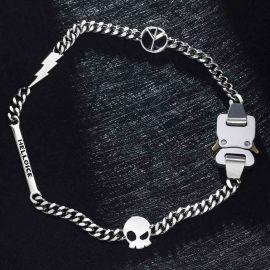 Cadena Cubana de Hebilla de Cinturón de Letras Personalizada con Rayo, Paz, Signo de Calavera