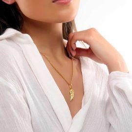 Colgante de Alas de Ángel para Mujer de Oro