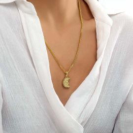 Colgante de San Cristóbal de Oro para Mujer