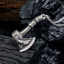 Colgante Viking Ax de Acero Inoxidable