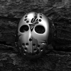 Anillo Horror Killer Mask de Acero Inoxidable