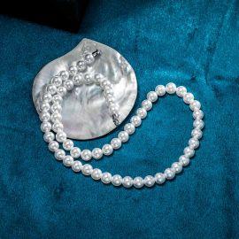 Collar de Perlas de 8mm