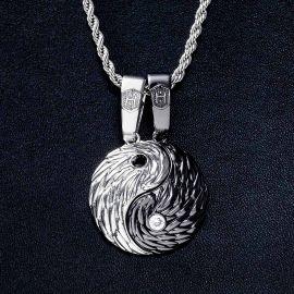 2Pcs Colgante Magnético de Yin Yang