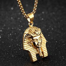 Colgante Faraón Egipcio de Acero Inoxidable