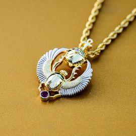 Colgante de Escarabajo Amuleto Egipcio