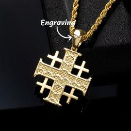 Colgante Cruz de Jerusalén