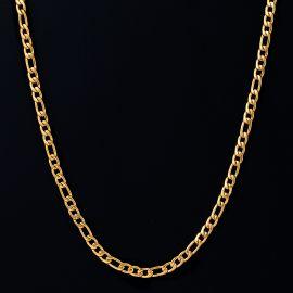 4mm Cadena Figaro de Oro