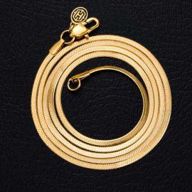 2mm Cadena de Serpiente de Oro
