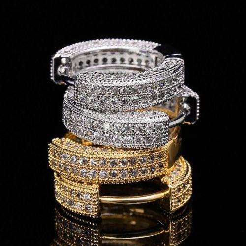 Pendientes de Aro con Diamantes