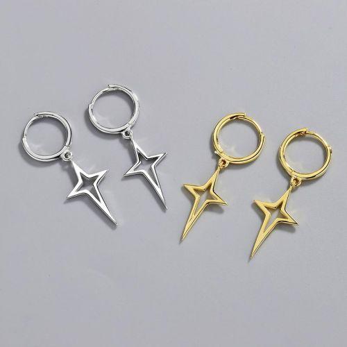 Pendientes Colgantes de cuatro puntas de Lucky Star